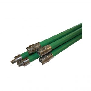 Premium flexibele veegstok groen-0